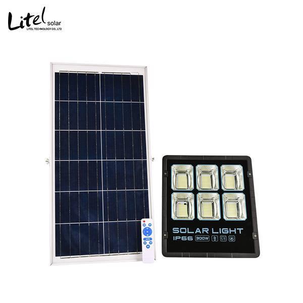 50w 100w 200w 300w new design solar flood light