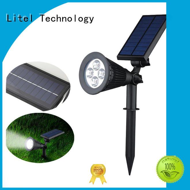 Quality Litel Technology Brand mounting led solar garden lights
