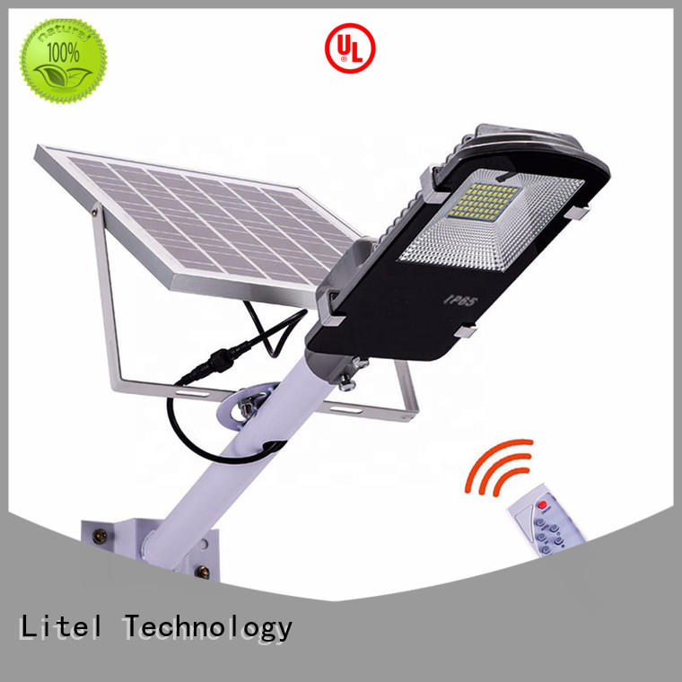 Litel Technology outdoor 60w solar led street light easy installation for porch