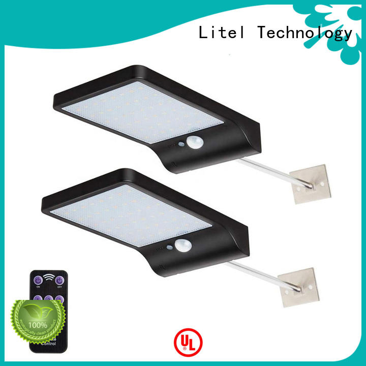 Litel Technology wall mounted solar garden wall lights lights for gutter