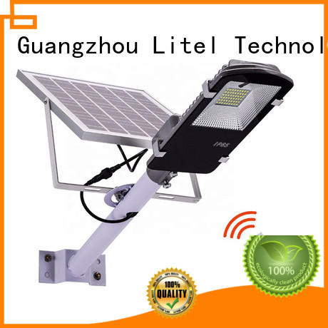 led best solar street lights control patio