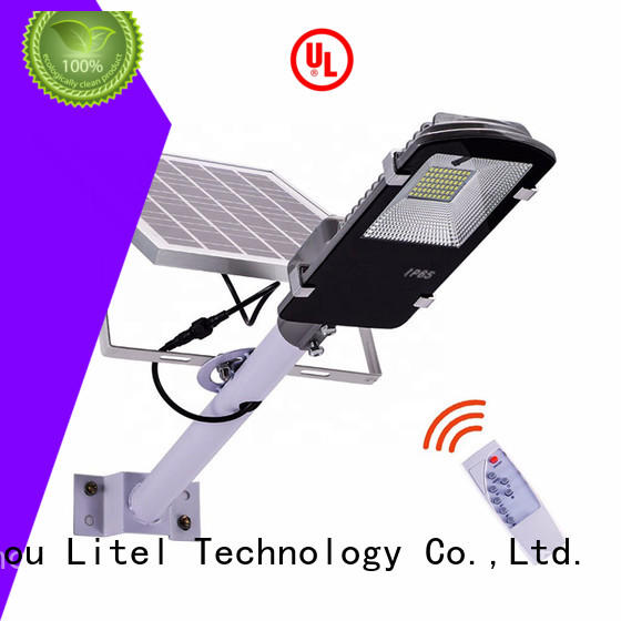 Litel Technology led best solar street lights at discount for warehouse