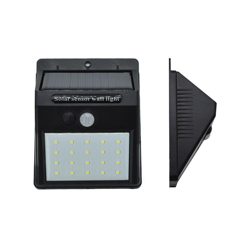 20 Led Wireless Waterproof Motion Sensor Led Solar Light Outdoor Mounted Security Garden Wall Light