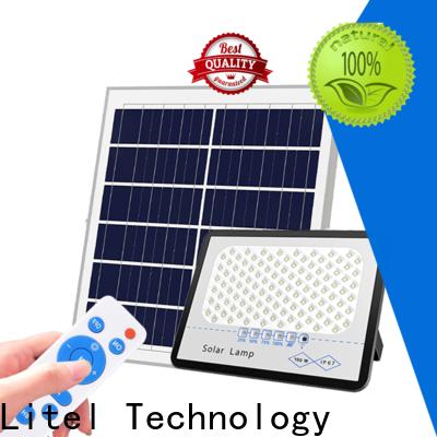 Litel Technology hot-sale solar powered flood lights for garage