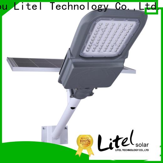 Litel Technology wireless solar led street light fixture custom for landscape