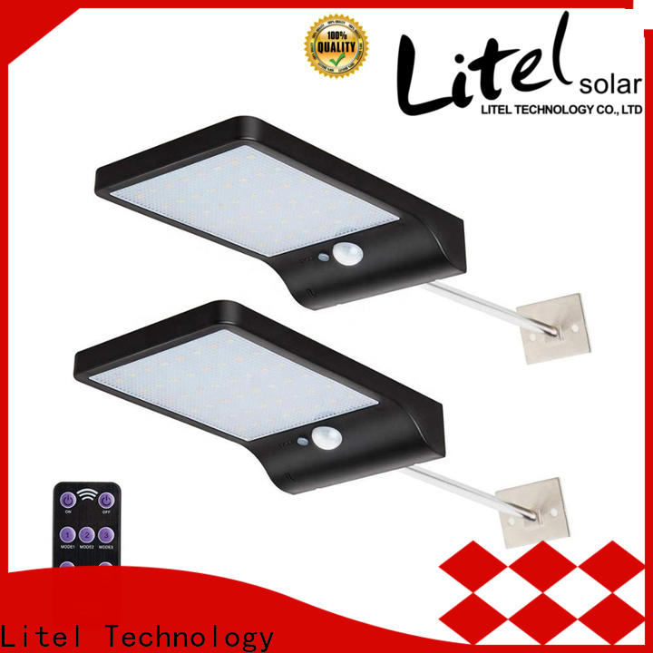 Litel Technology flickering bright solar garden lights for landing spot