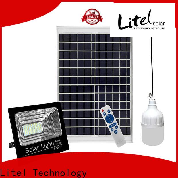Litel Technology competitive price best solar led flood lights bulk production for barn
