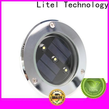 Litel Technology waterproof best solar garden lights buy for lawn