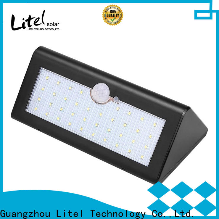 Litel Technology step bright solar garden lights decoration for landing spot