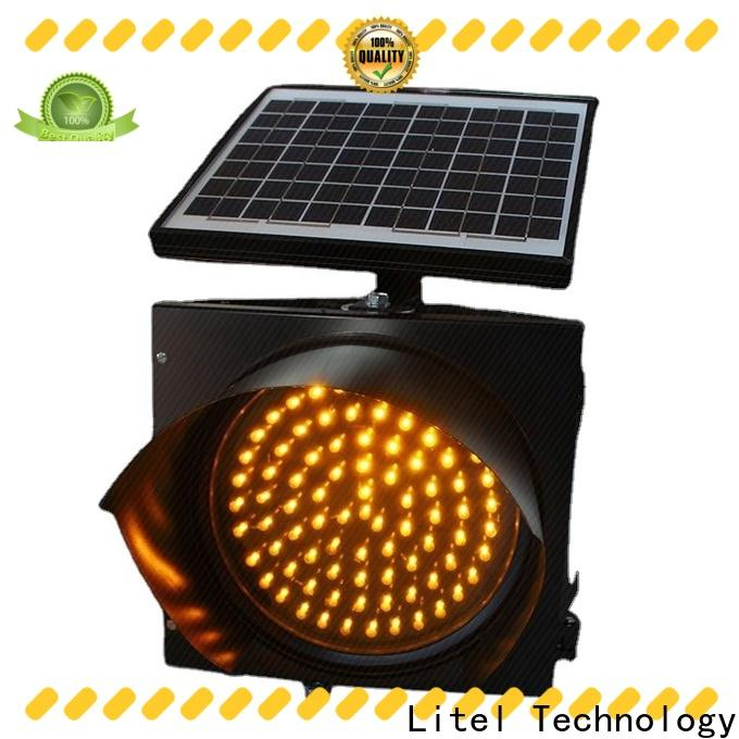 Litel Technology solar powered traffic lights suppliers at discount for warning