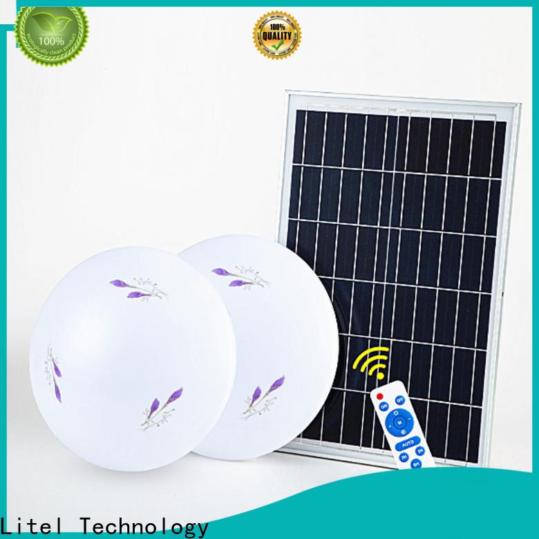 Litel Technology custom solar powered ceiling light for high way