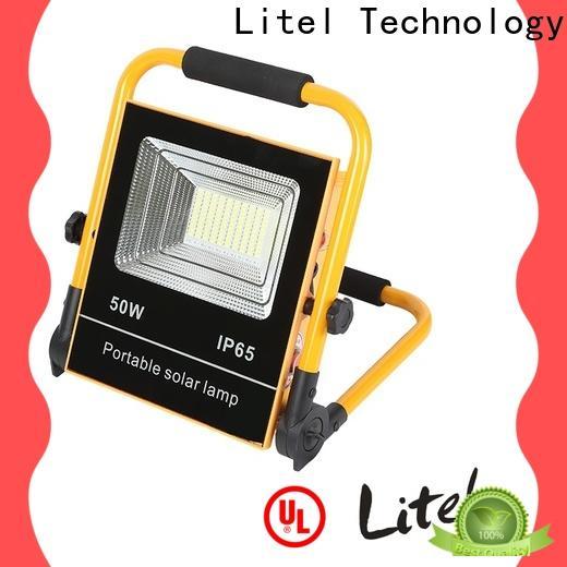 Litel Technology durable best solar led flood lights by bulk for factory