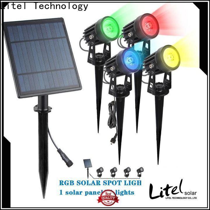 Litel Technology wireless hanging solar garden lights decoration for lawn