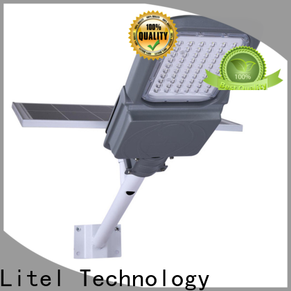 Litel Technology wall mounted solar street light project at discount for street