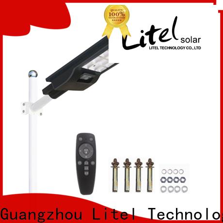 Litel Technology radar all in one solar street light price check now for workshop