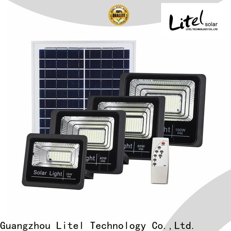 Litel Technology best quality solar powered flood lights by bulk for barn