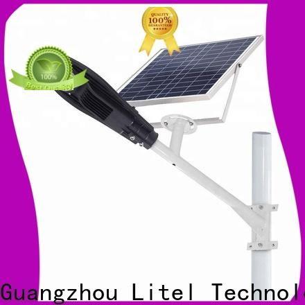 Litel Technology popular solar powered street lights residential at discount for workshop