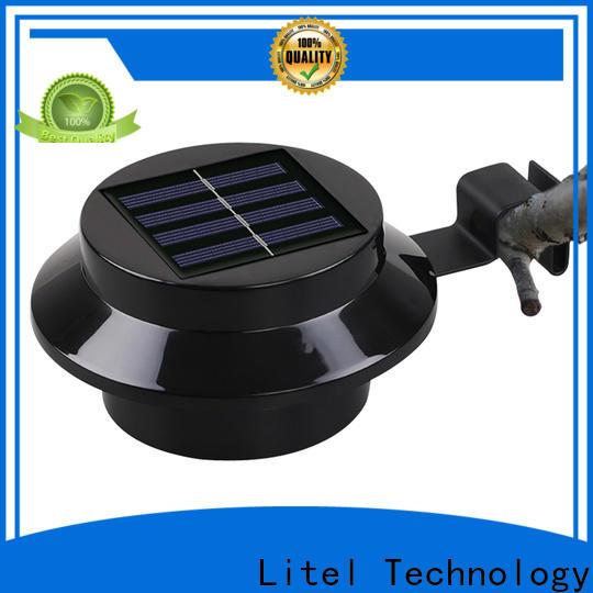 Litel Technology sale solar powered garden lights flame for landing spot