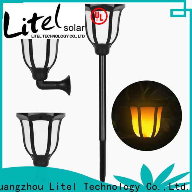 Litel Technology power solar led garden lights decoration for gutter