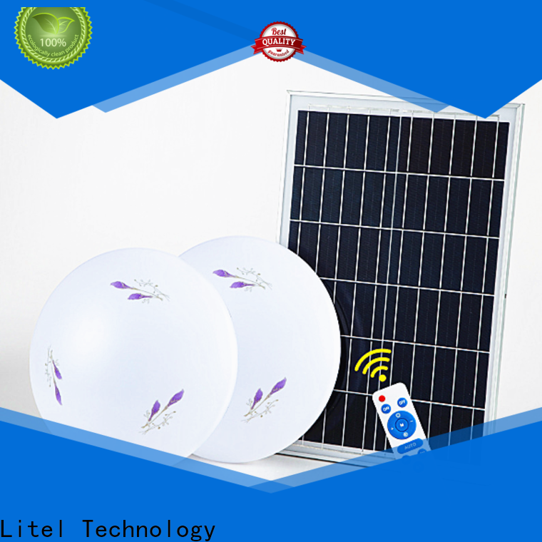 Litel Technology custom solar outdoor ceiling light bulk production for street lighting