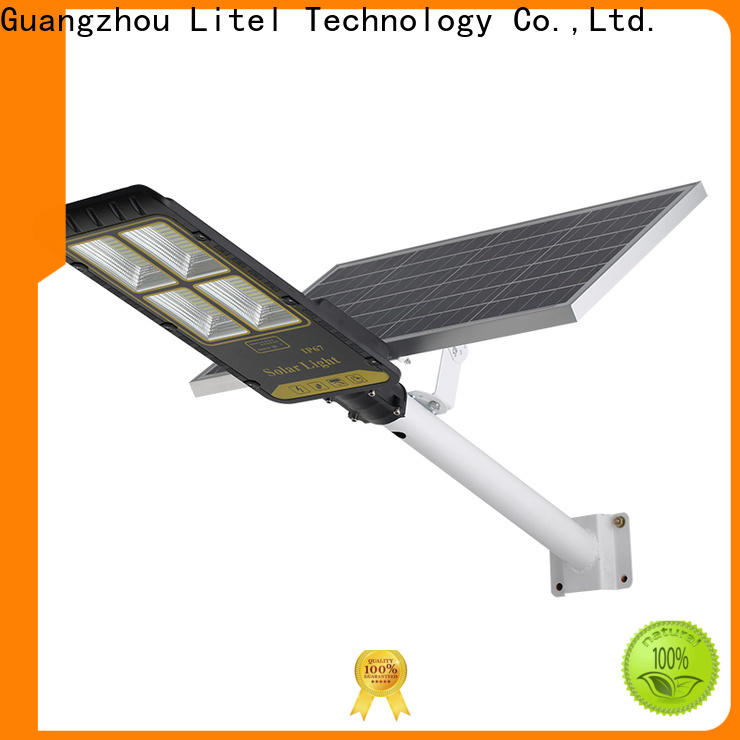 Litel Technology micro-ware 60w solar led street light sensor remote control for garage