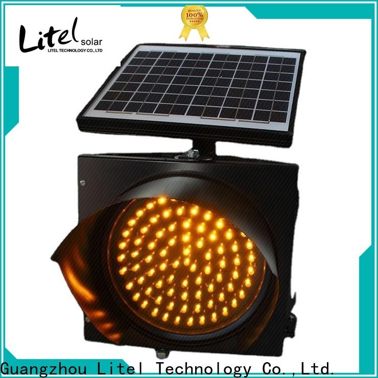 Litel Technology custom solar powered traffic lights suppliers hot-sale for high way