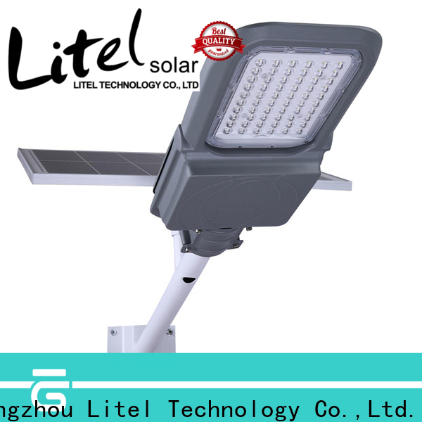 Litel Technology remote control solar led street light fixture hot sale for street