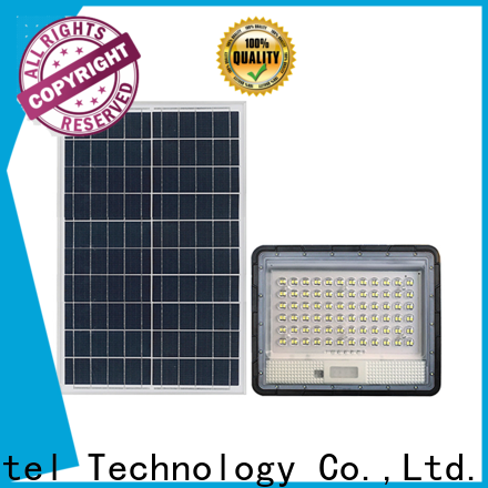 reasonable price solar powered flood lights remote control for porch