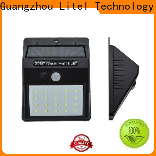 Litel Technology wall mounted solar led garden light top selling for landscape
