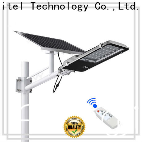 Litel Technology led sensor 18 watt solar led street light at discount for lawn