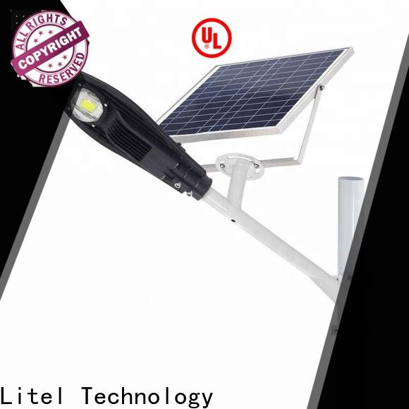 led best solar street lights low cost for factory