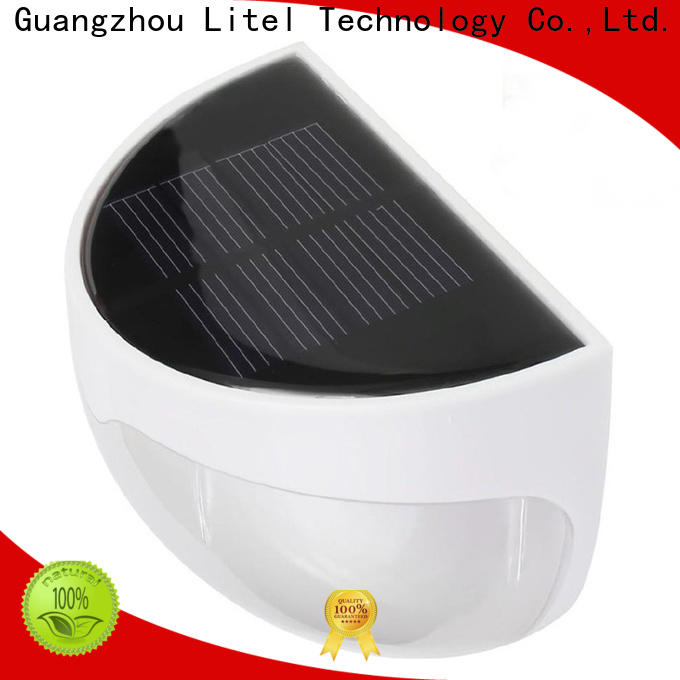 Litel Technology step solar panel garden lights wall for garden