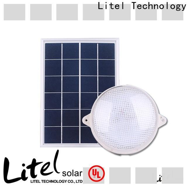 Litel Technology hot sale solar powered ceiling light bulk production for alert