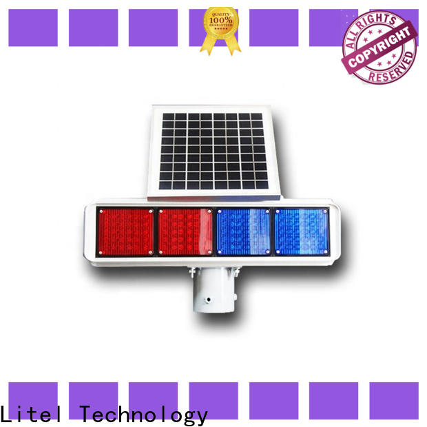 ODM solar powered traffic lights powered bulk production for warning