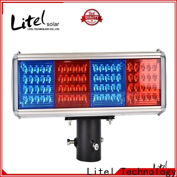 Litel Technology portable solar powered traffic lights hot-sale for warning