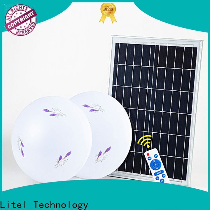 Litel Technology solar led ceiling light at discount for warning