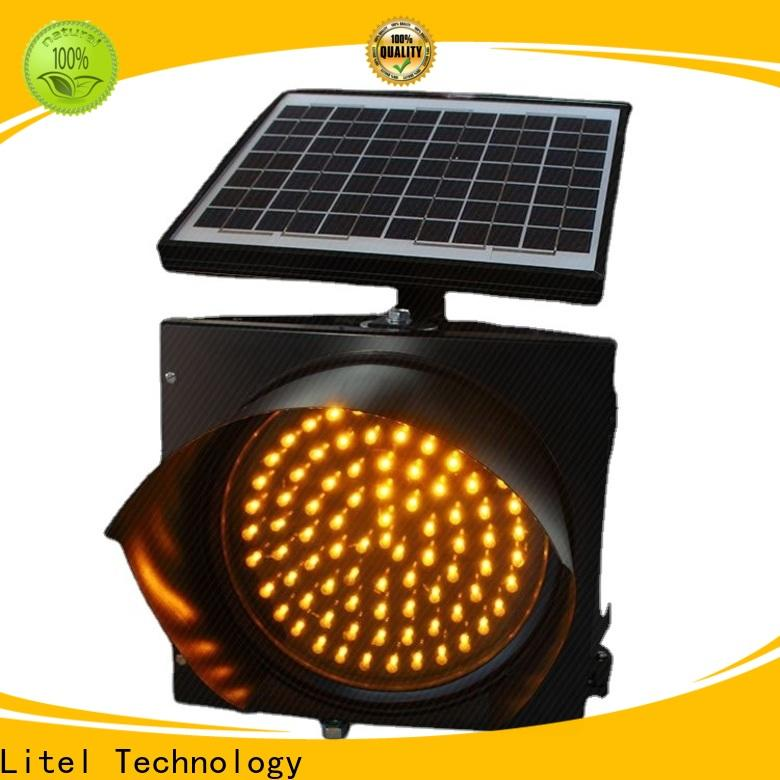 Litel Technology OBM solar traffic lights hot-sale for road