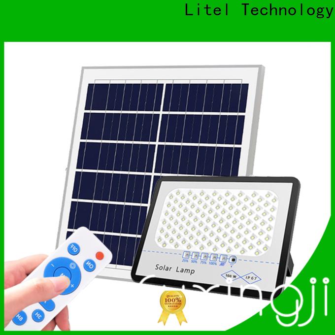 reasonable price solar flood lights remote control bulk production for workshop