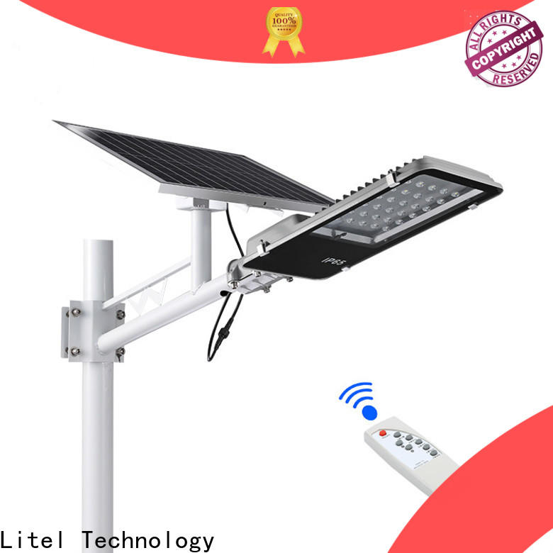 wall mounted solar led street light fixture hot sale for street