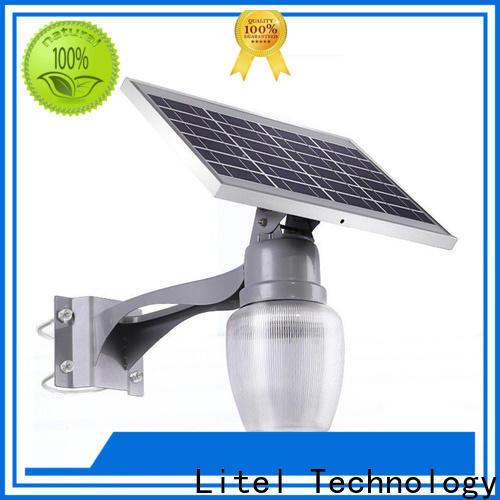Litel Technology patio outdoor solar garden lights motion for landing spot