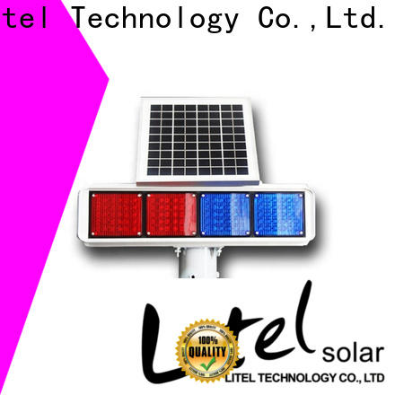 custom solar powered traffic lights powered at discount for alert