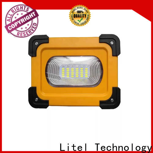 Litel Technology competitive price best outdoor solar flood lights bulk production for factory