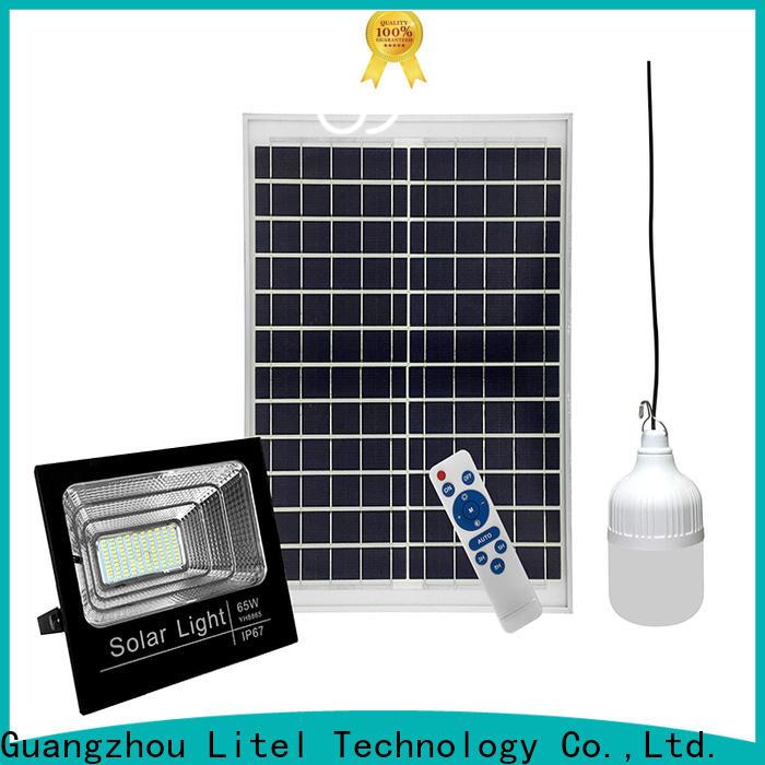 Litel Technology best quality solar powered flood lights bulk production for garage