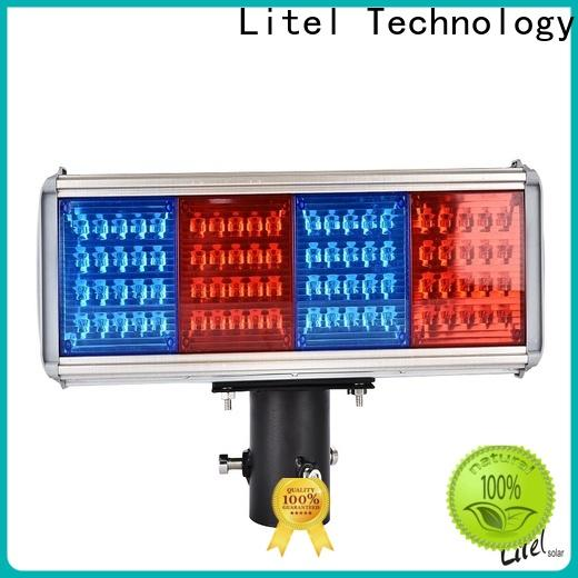 Litel Technology solar traffic lights hot-sale for warning