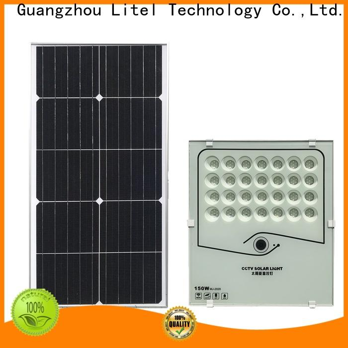 Litel Technology remote control solar flood lights outdoor inquire now for garage