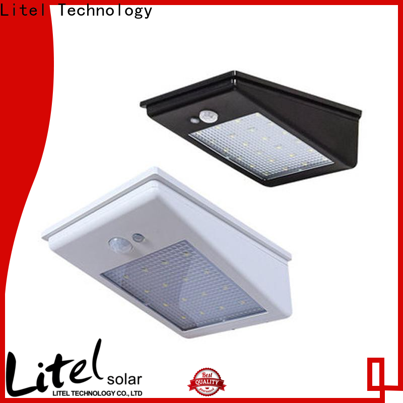 Litel Technology flickering solar panel garden lights bridgelux for landing spot