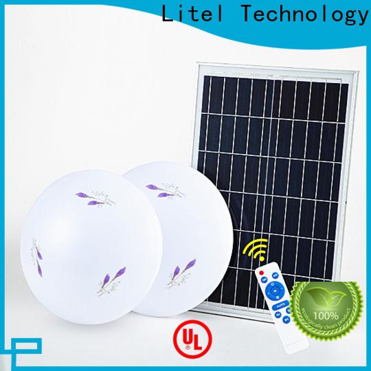 Litel Technology brightness solar led ceiling light ODM for warning