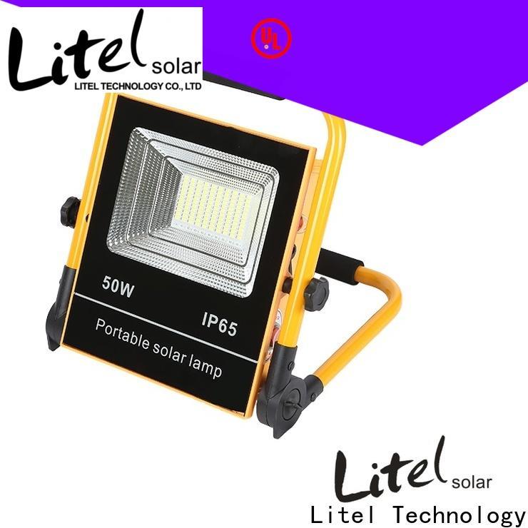 Litel Technology solar led flood light for garage