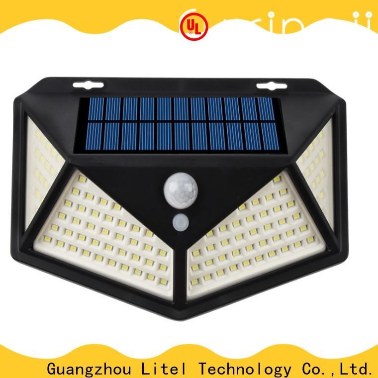 Litel Technology wireless solar led garden light walkway for lawn