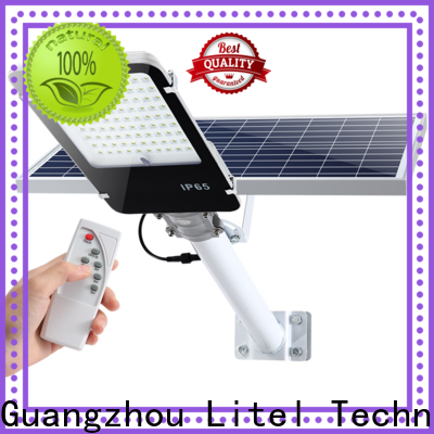 Litel Technology energy-saving solar street lighting system sensor remote control for warehouse